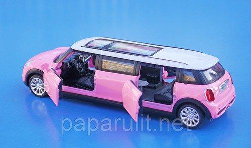 Мини Купер Лимузин машинка игрушечная
