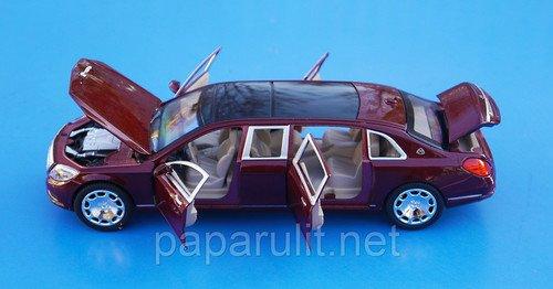 Лимузин XLGоткрываются двери капот багажник