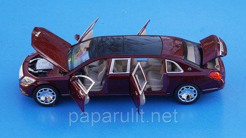 XLG Лимузин открываются двери капот багажник
