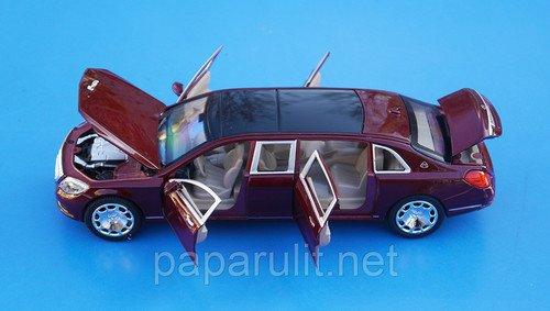 XLG M923T Лимузин открываются двери капот багажник