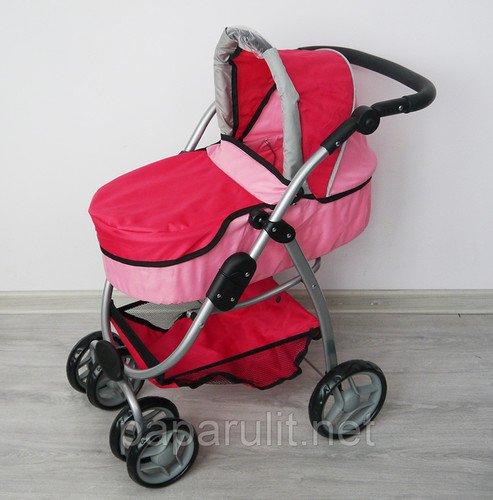 Коляска Melobo 9662 розовая