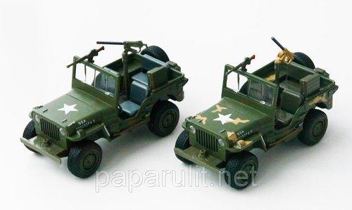 Willys военный машинка
