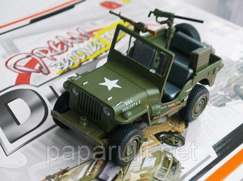 Военный Виллис модель