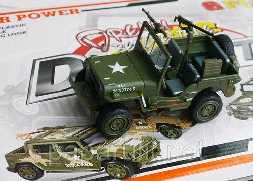 Машинка военный Виллис
