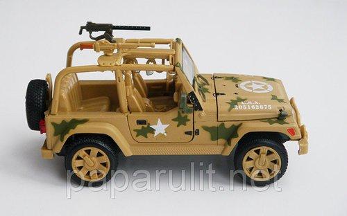 военный Джип игрушечный
