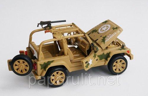 Джип военный машинка