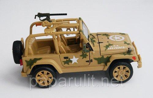 Jeep военный масштабная модель