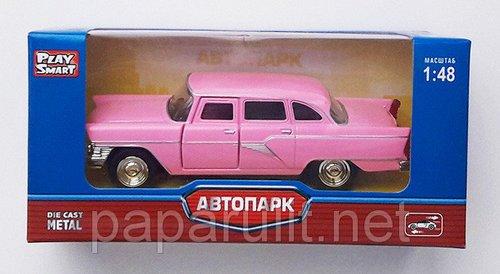 Чайка игрушечная розовая