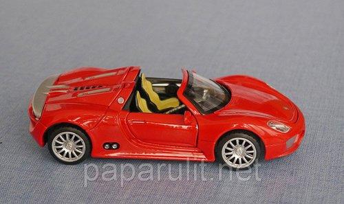 Порш 918 спайдер кабриолет игрушечный