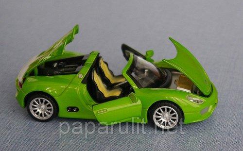 Porsche Spyder 918 кабриолет машинка