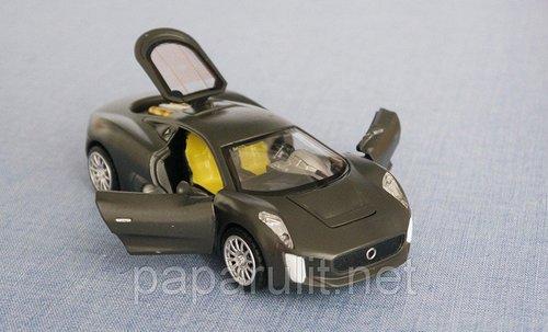 Jaguar 75 машинка
