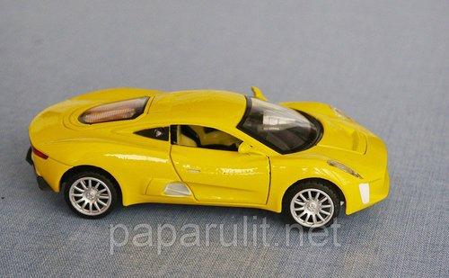 Jaguar CX75 игрушечный