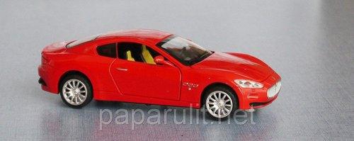Maserati машинка открываются двери багажник капот
