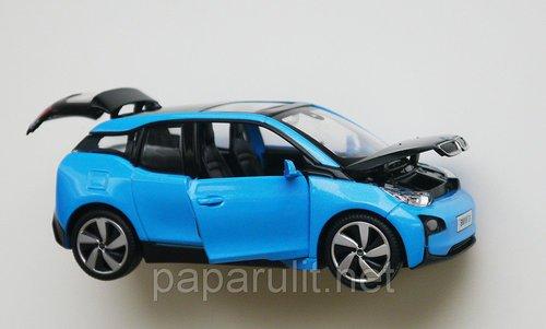 BMW i3 открываются двери багажник капот