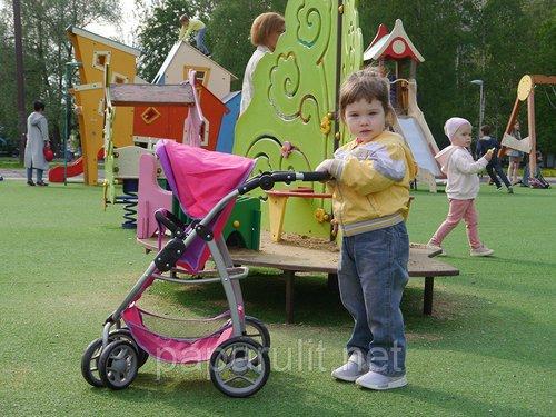 Большая коляска 9662 и Саша 2 года и 5 месяцев