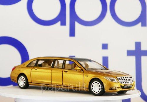 Лимузин игрушечный золотой