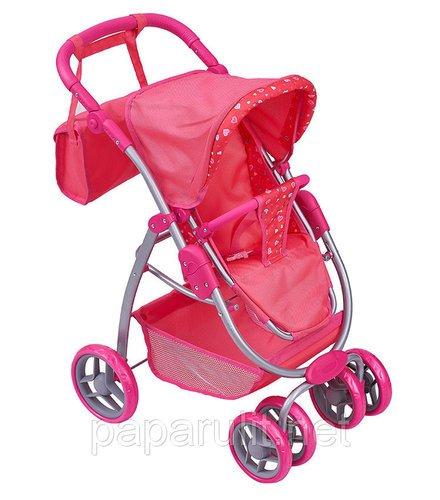 Кукольная коляскас сумочкой