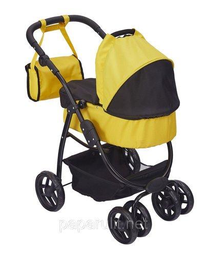 Кукольная коляска с сумочкой