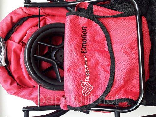 Кукольная коляска с сумочкой Buggy Boom серия Эмоушн (Emotion)