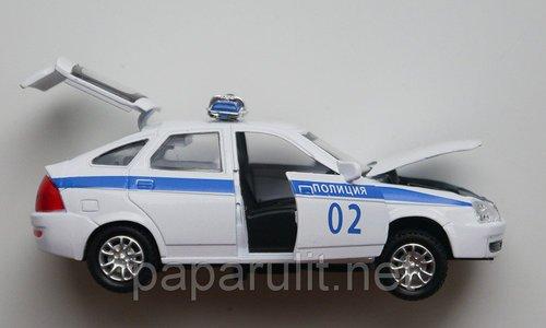 Машинка Лада Приора Полиция