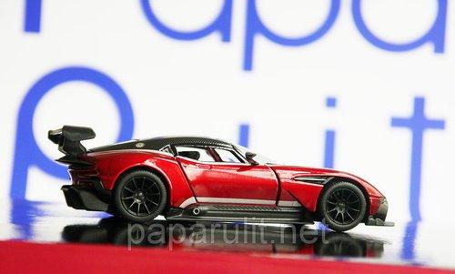 Aston Martin Vulcan раскрашенный машинка Kinsmart
