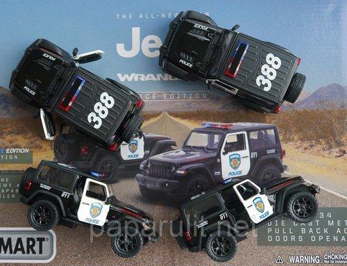 Jeep Wrangler Kinsmart