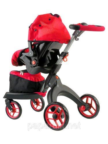 Кукольная коляска Buggy Boom Aurora с сумочкой