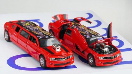 Лимузин Машинка открываются двери, капот, багажник
