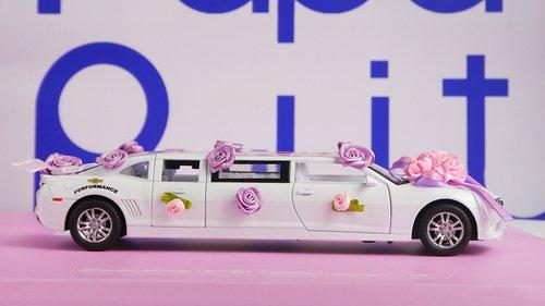 Белый лимузин игрушка