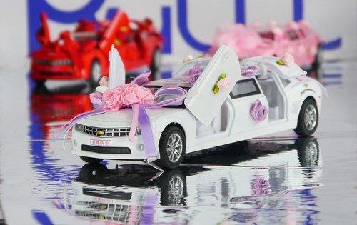 Машинка лимузин свадебный
