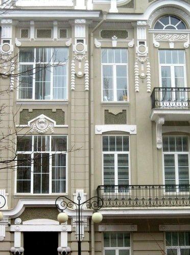 Доходный дом И. А. и А. Н. Бострикиных. 1914 год.