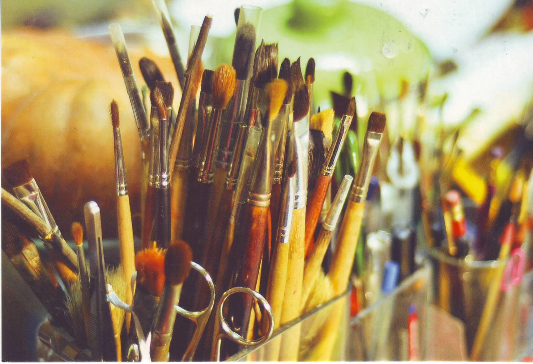Картинка художественные кисти