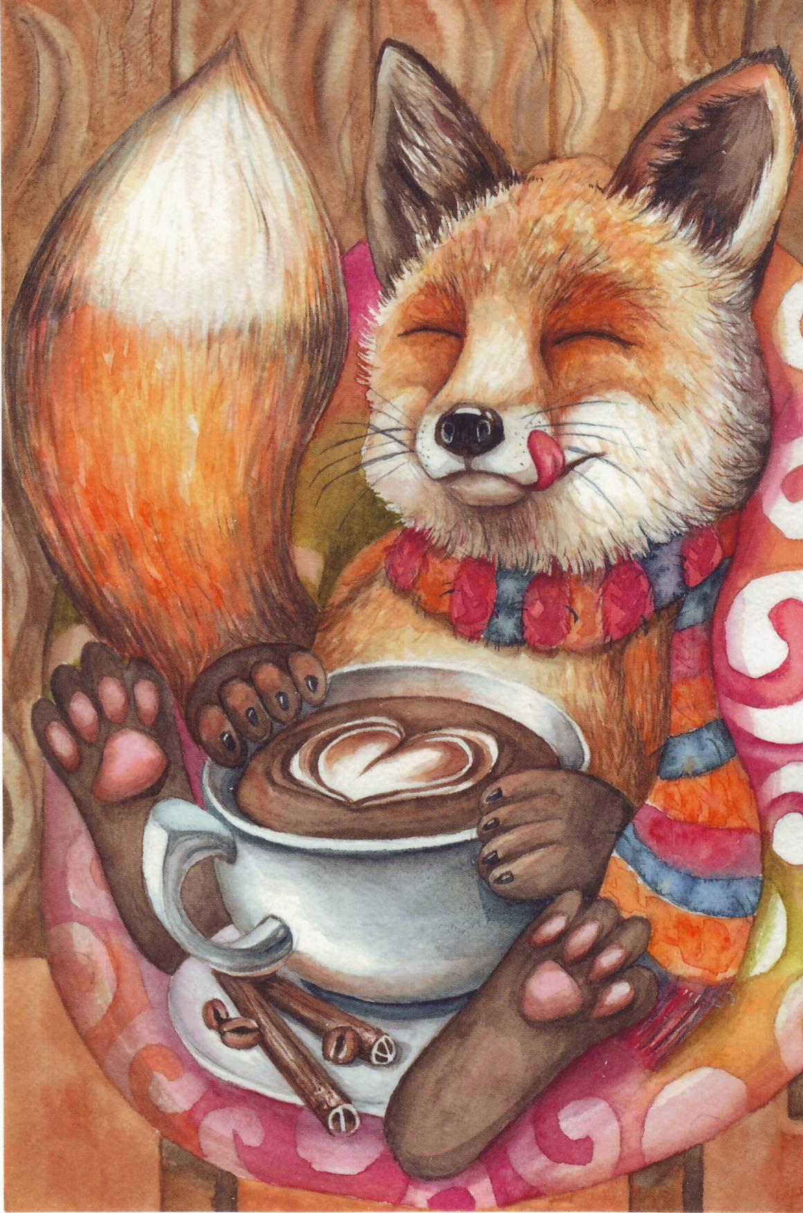 Доброе утро лисичка картинки