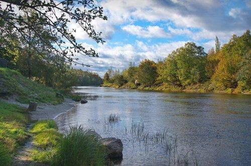 Река Плюсса.