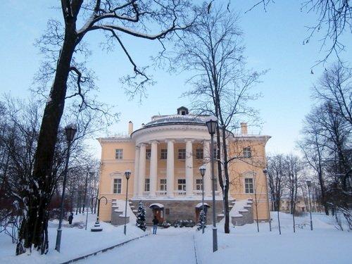 Зима в Пушкине
