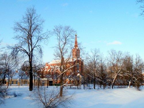Зимой на Набережной...