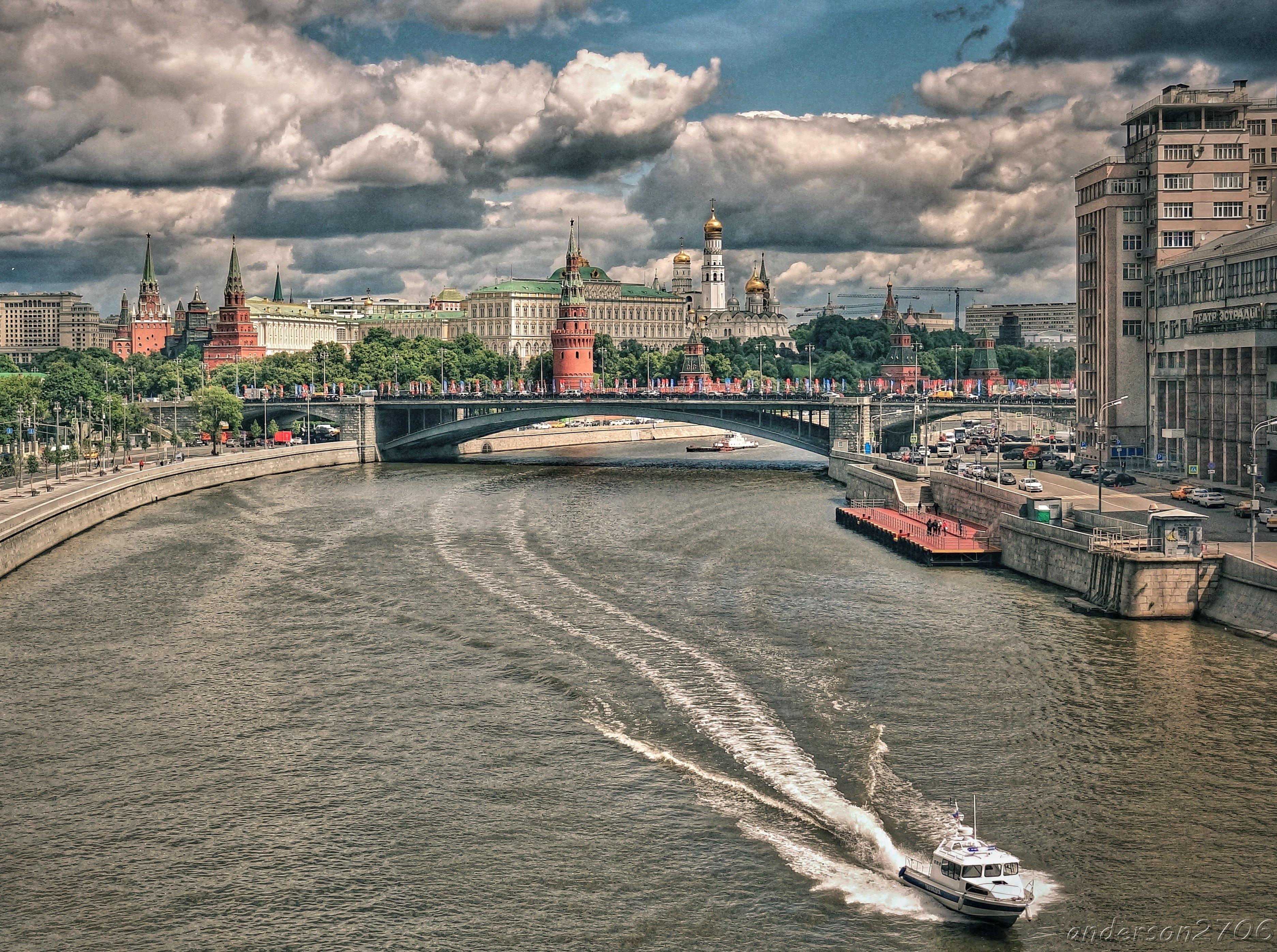 Фото реки москва