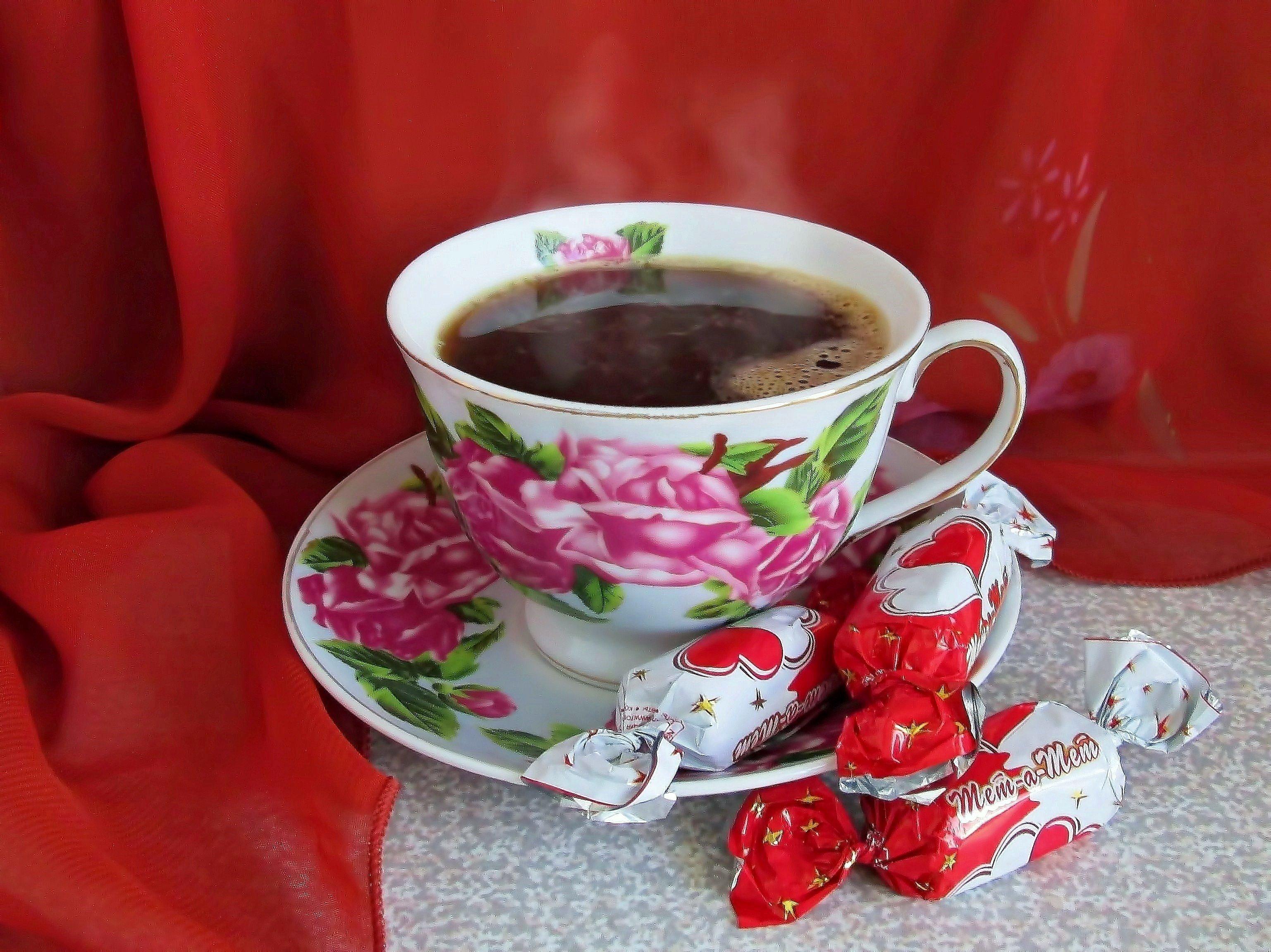 Картинка чашка чая доброе утро