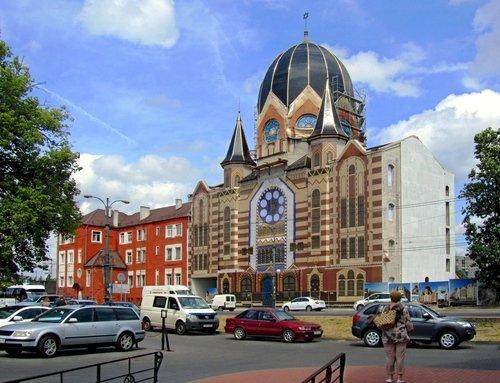 Задрапированная синагога