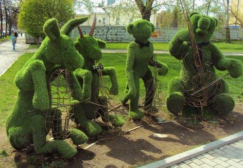 Зеленый квартет