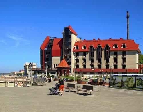 Брошенный Газпромовский отель