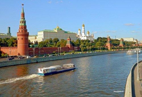 Летние виды Москва-реки