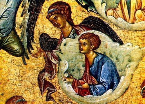 Успение Пресвятой Богородицы. Икона тверской школы последней четверти 15 века.