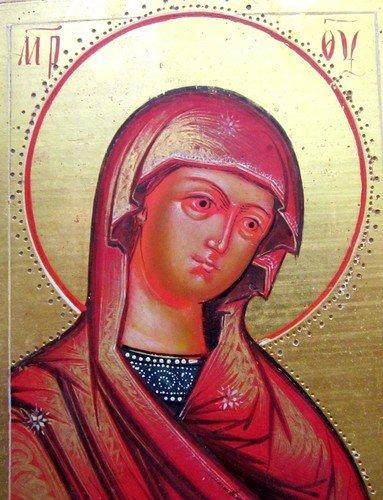 """Икона Божией Матери """"Огневидная"""". Первая половина 19 века."""