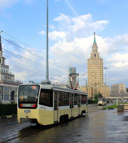 Московские трамваи