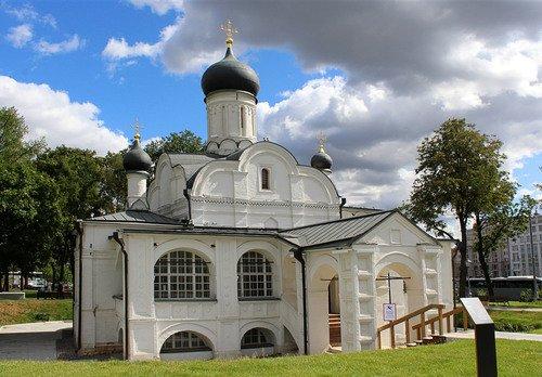 церковь зачатия Св. Анны в Зарядье