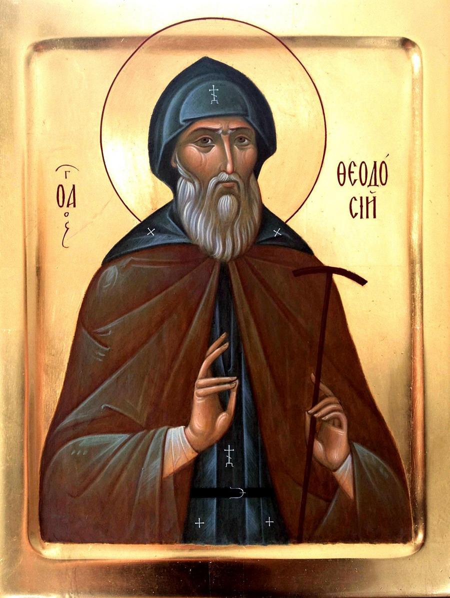 Святой Преподобный Феодосий Великий, общих житий начальник.