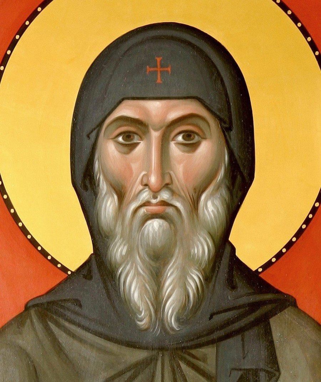 Святой Преподобный Антоний Великий. Иконописец архимандрит Зинон (Теодор).