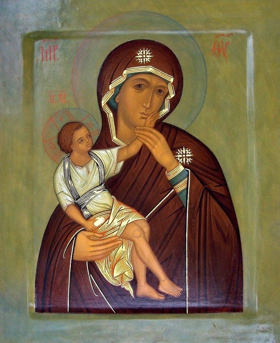 """Икона Божией Матери """"Отрада, или Утешение"""". Современный список."""