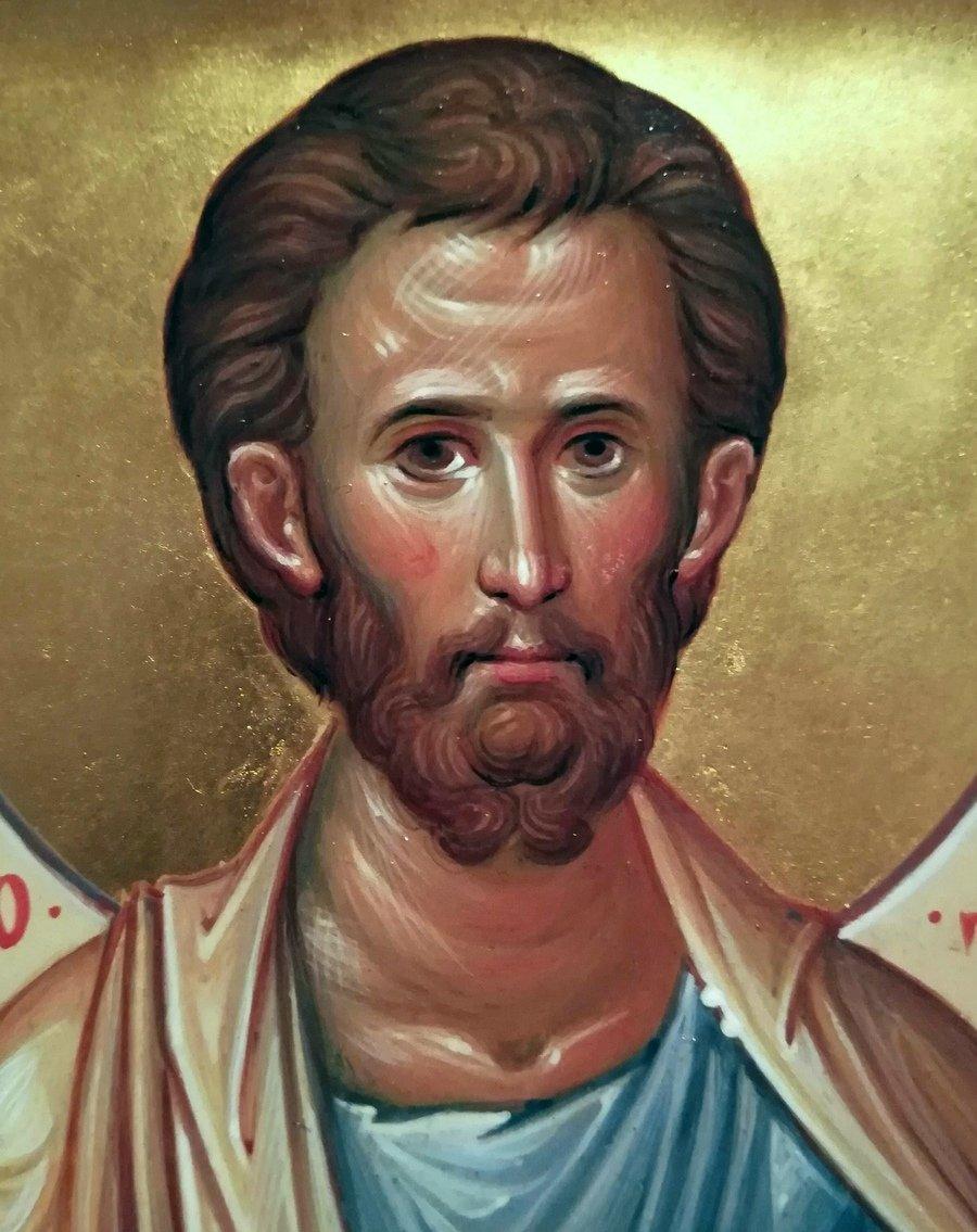 Святой Апостол от Семидесяти Тимофей. Иконописец Наталия Пискунова.